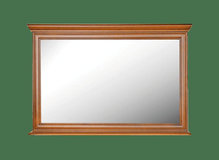 lustro zdrewnianą ramą